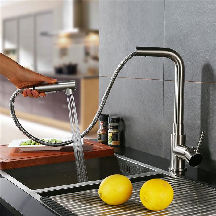 robinet de cuisine mitigeur pour evier avec douchette extractible robinet mitigeur cuisine 2. Black Bedroom Furniture Sets. Home Design Ideas